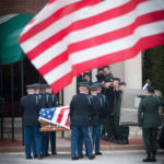 A US Army Casket Team Entering The Old Post Chapel | Arlington Media, Inc.