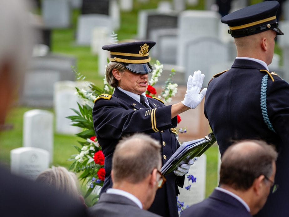 US Army Chaplain | Arlington funeral photography | arlington media, inc.
